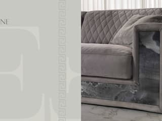 Neptune Marble Sofa:   by Royz Furniture