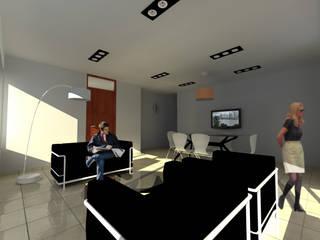 Salones de estilo  de VHA Arquitectura