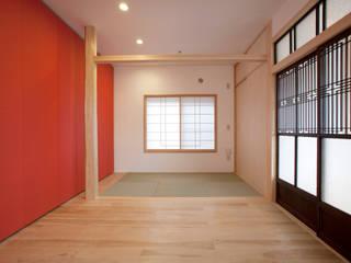 千人町の家 モダンデザインの リビング の 戸田晃建築設計事務所 モダン
