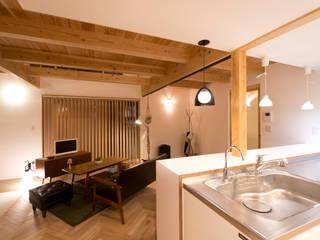 غرفة المعيشة تنفيذ 合同会社negla設計室 , إسكندينافي