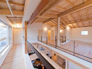 Scandinavian style balcony, veranda & terrace by 合同会社negla設計室 Scandinavian