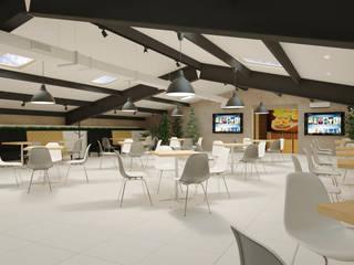 """Ресторан быстрого питания """"BigBurger"""": Ресторации в . Автор – Мастерская архитектуры и дизайна FOX"""