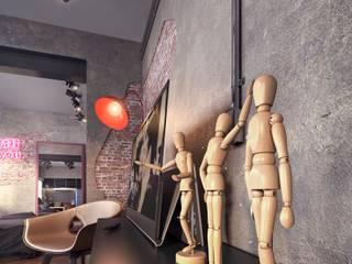 Koridor & Tangga Modern Oleh .Villa arquitetura e algo mais Modern