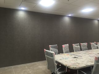 Tech Mahindra Office:  Commercial Spaces by C J Sheth & Co