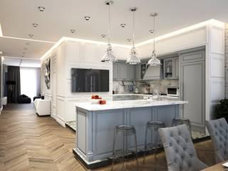 Квартира холостяка: Кухни в . Автор – seven2seven studio