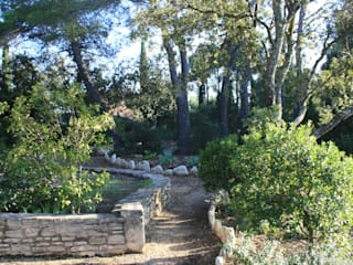 Couleur Porvençal Jardin méditerranéen par I.D.O jardins Méditerranéen