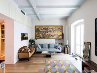 Salas de estilo ecléctico de cristianavannini | arc Ecléctico