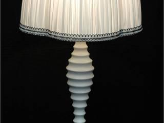 Création d'abat-jour et lampes sur mesure J-Lumine MaisonAccessoires & décoration Soie Blanc