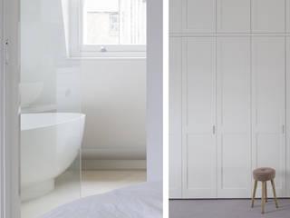 Georgian House Architecture for London 現代浴室設計點子、靈感&圖片