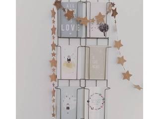 Guirlande d'étoiles en papier kraft recylclé par UN JOUR ORDINAIRE Minimaliste