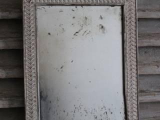 Ancien petit miroir patiné:  de style  par Les couleurs de brocantine