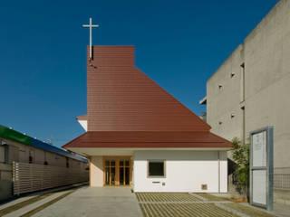 名古屋グローリアスチャペル モダンな 家 の 池戸建築事務所 モダン
