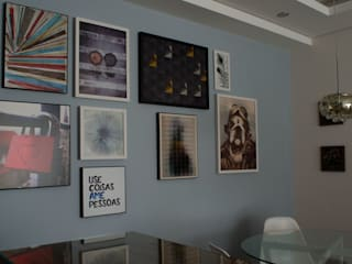 MEM Arquitetura Modern Living Room