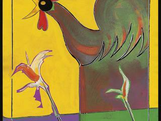 Coq aux iris: Salon de style  par ahgraph