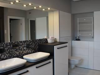 Mieszkanie 92m2: styl , w kategorii  zaprojektowany przez AMK Wnętrza