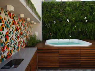 Adoro Arquitetura Modern houses Wood Multicolored