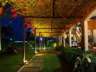 Fazenda Santa Izabel: Casas  por LM Arquitetura   Conceito,Campestre