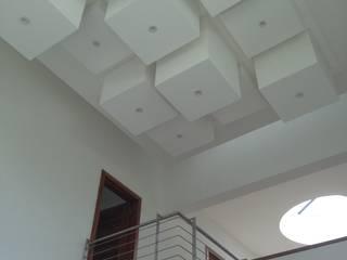 CASA SG Salones modernos de iarkitektura Moderno