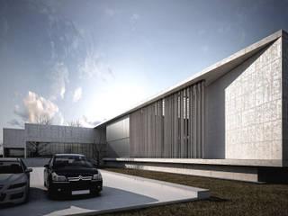 OFICINAS PARA CENTRO ADMINISTRATIVO Y DE FORMACIÓN : Estudios y oficinas de estilo moderno por reimersrisso