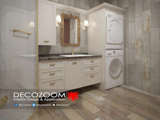 Bathroom DECOZOOM INTERIOR DESIGN Kırsal/Country