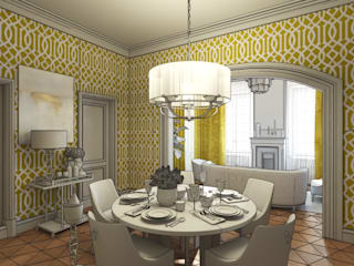 Classic style dining room by Бражинская Classic