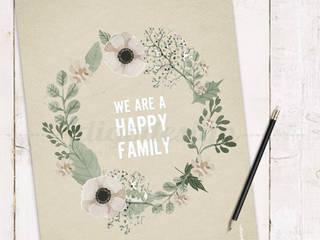 ★ poster ★ we are a happy family ★ por Digo Campestre