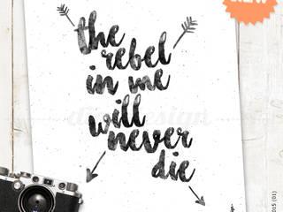 ★ poster ★ the rebel in me ★ por Digo Escandinavo