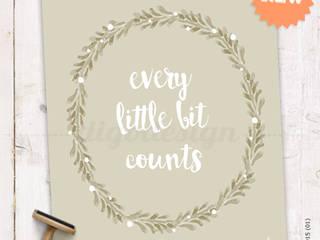 ★ poster ★ every little bit counts ★ por Digo Mediterrânico
