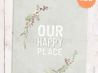 ★ poster ★ our happy place ★ por Digo Campestre