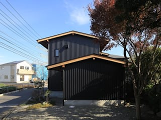 Casas ecléticas por 早田雄次郎建築設計事務所/Yujiro Hayata Architect & Associates Eclético
