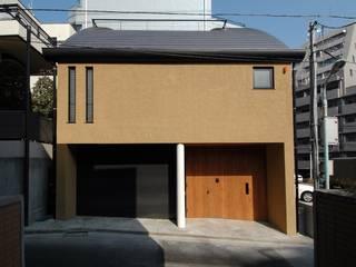 外観(正面): 中川龍吾建築設計事務所が手掛けた家です。