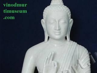 Marble Buddha:   by Vinod Murti Museum
