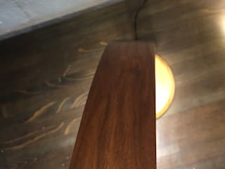 홍스목공방 Study/officeLighting Kayu Brown
