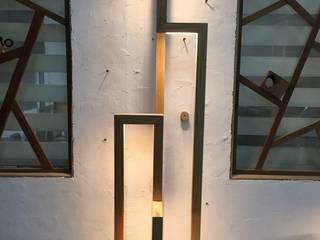 홍스목공방 Oturma OdasıIşıklandırma Ahşap Kahverengi
