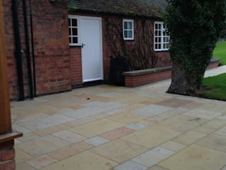 BEAUTIFUL STONE PAVING Modern Bahçe BARTON FIELDS LANDSCAPING SUPPLIES Modern