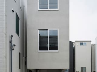 House in Osaki Modern houses by Kentaro Maeda Architects Modern