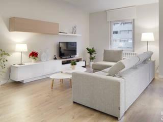 Salas / recibidores de estilo  por Etxe&Co, Moderno