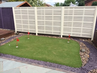 CONTEMPORARY GARDEN FENCE SCREENS / PANELS Jardines modernos de BARTON FIELDS LANDSCAPING SUPPLIES Moderno