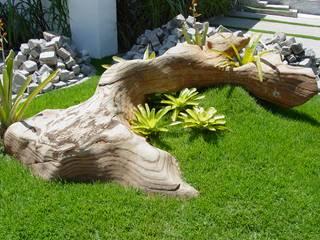 MM NATURSTEIN GMBH Jardines de estilo mediterráneo Piedra
