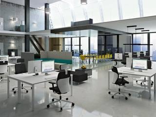 Fotel obrotowy DUAL DU 102: styl , w kategorii  zaprojektowany przez ErgoKoncept