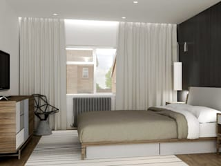 Bedroom by Lena Lobiv Interior Design, Modern
