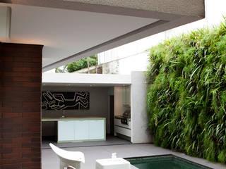Бассейн в стиле модерн от Antônio Ferreira Junior e Mário Celso Bernardes Модерн