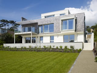 Modern Home Griffen Modern houses by Baufritz (UK) Ltd. Modern