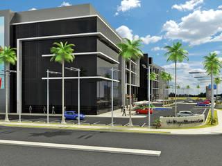 Shopping Centres by NOGARQ C.A.,