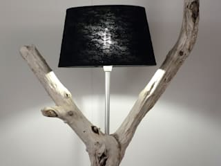 Meister Lampe Living roomLighting Wood Multicolored