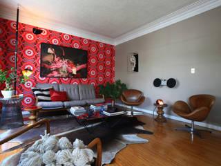 Modern living room by Germán Velasco Arquitectos Modern