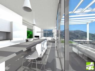 REFORMA DE LOFT | TORROX | MÁLAGA Casas de estilo moderno de ESTUDIO DE ARQUITECTURA ANTONIO JURADO Moderno