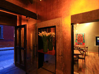 Modern Corridor, Hallway and Staircase by Germán Velasco Arquitectos Modern