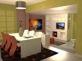Abitazione a Perugia - Interiors in Perugia Soggiorno moderno di Planet G Moderno