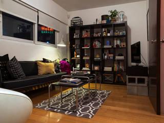 Ruang Keluarga Modern Oleh Germán Velasco Arquitectos Modern